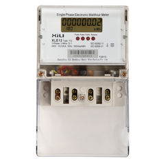 Anti Tampering Single Phase Energy Meter / digital KWH meters 50Hz or 60Hz