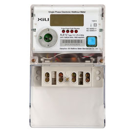 Multifunction Single Phase Energy Meter