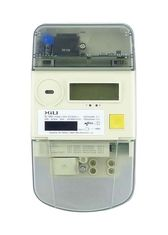 AMI / AMR Single Phase Smart Energy Meters , Multifunction Electronic Kilowatt Meter