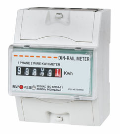 Single Phase din rail KWH meter